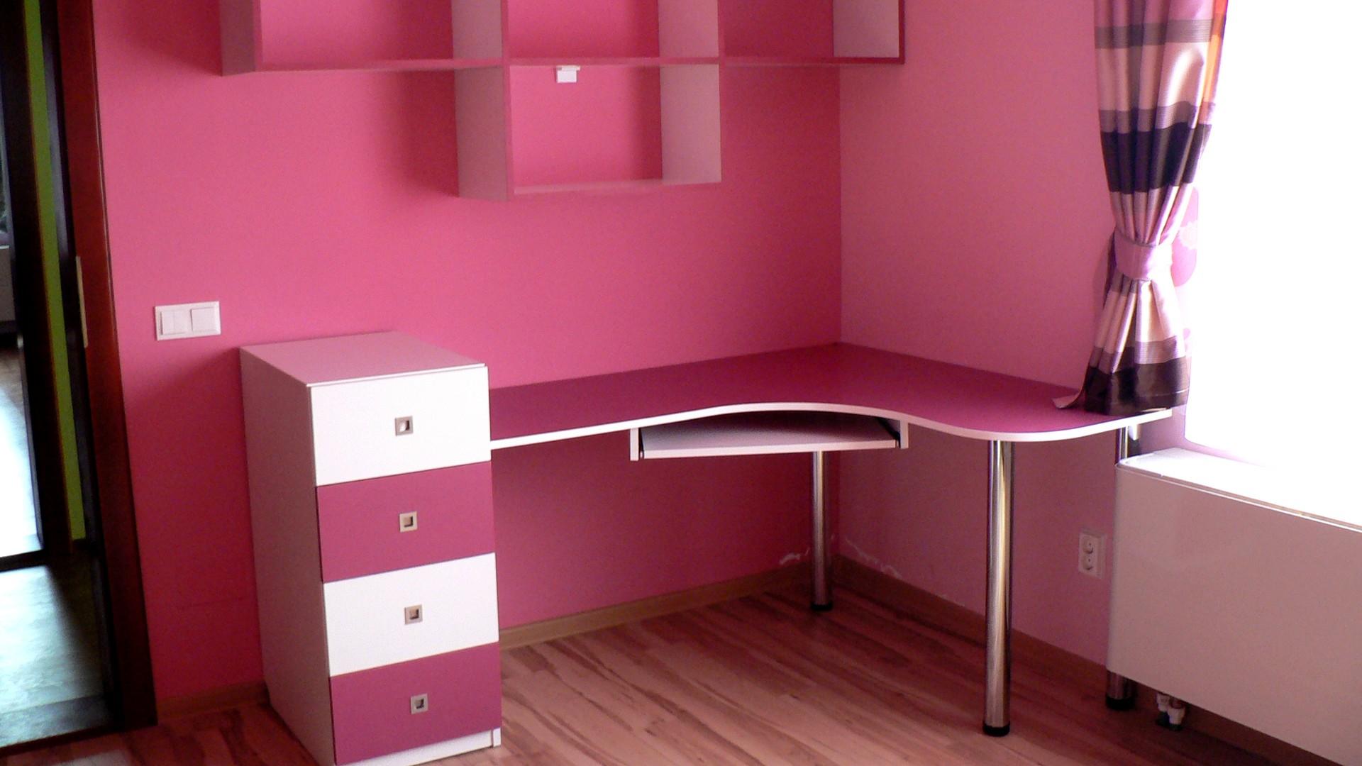 mobilier tineret roz