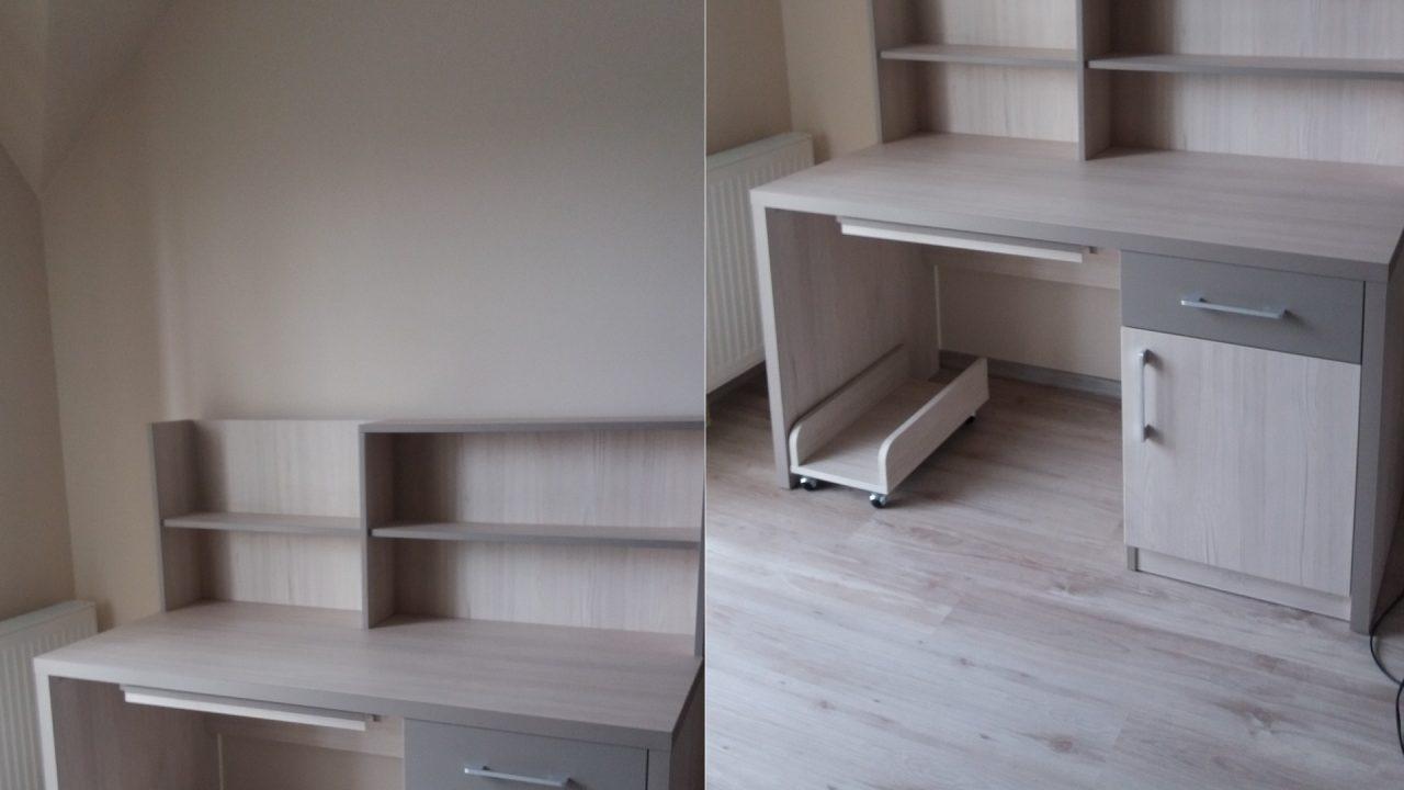 birou PC din lemn