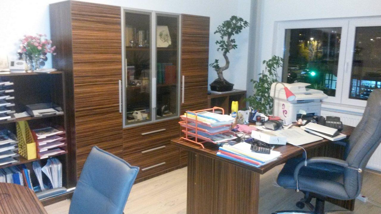 birouri pentru serviciu lemn inchis