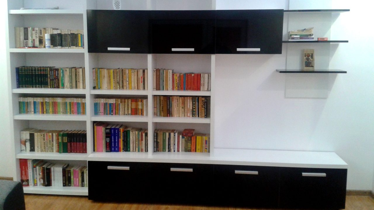 bobilier biblioteca sufragerie moderna