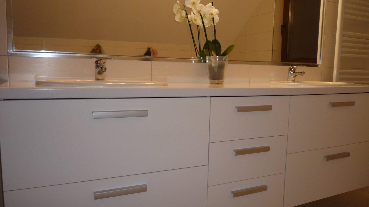 mobilier baie cu 2 chiuvete 1