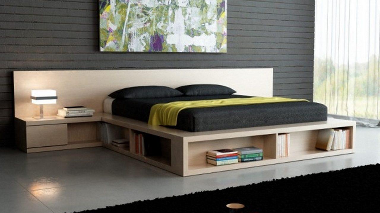 pat modern cu loc pentru stocare